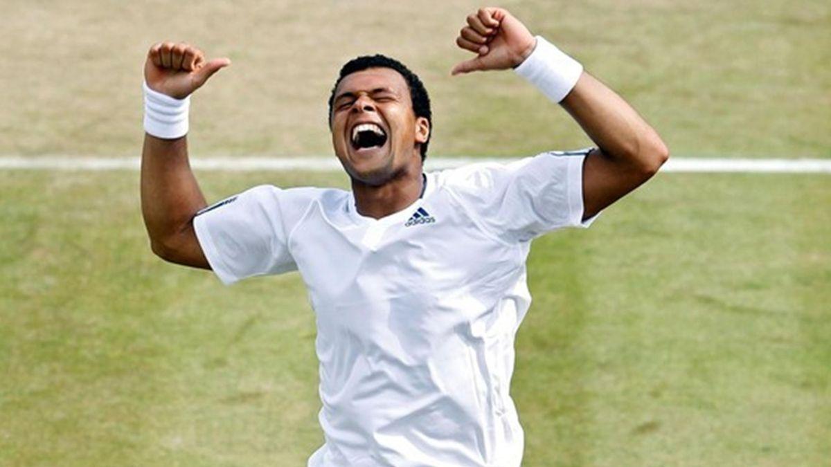 TENNIS 2010 Wimbledon Tsonga