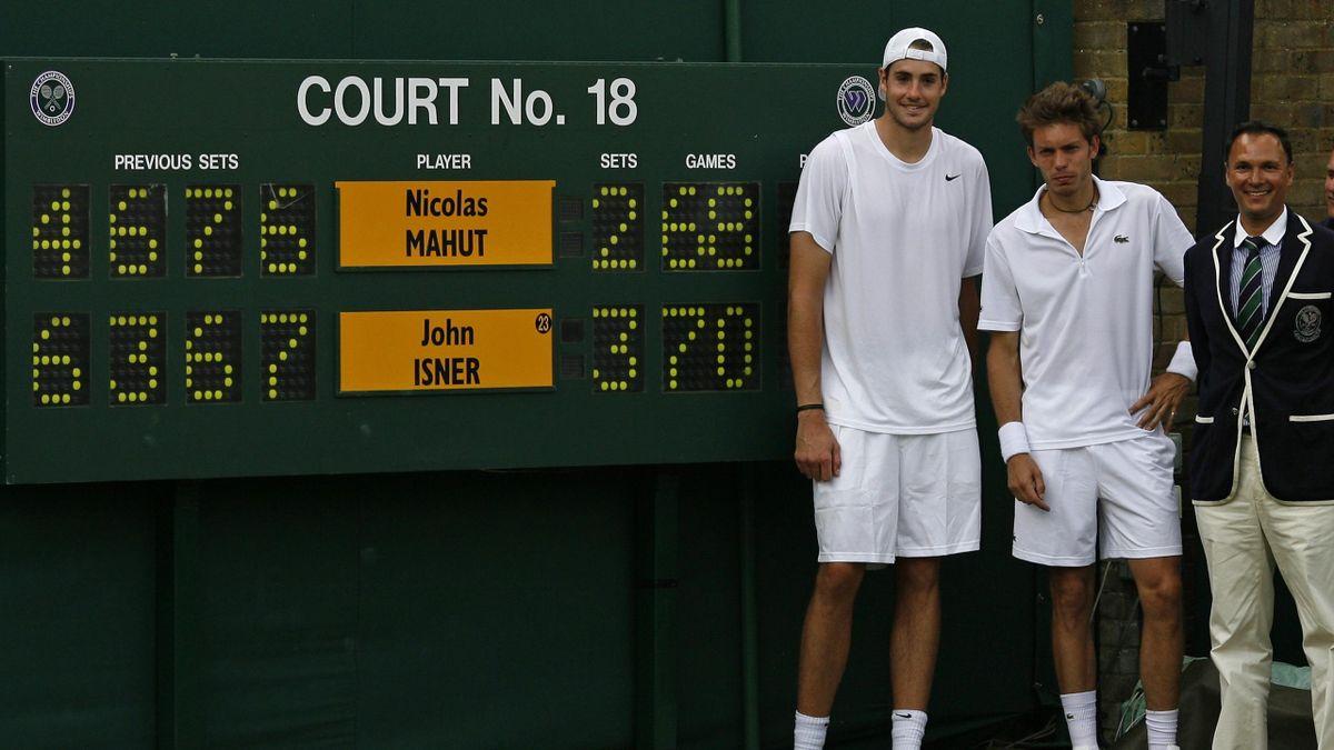 2010 Wimbledon Mahut Isner