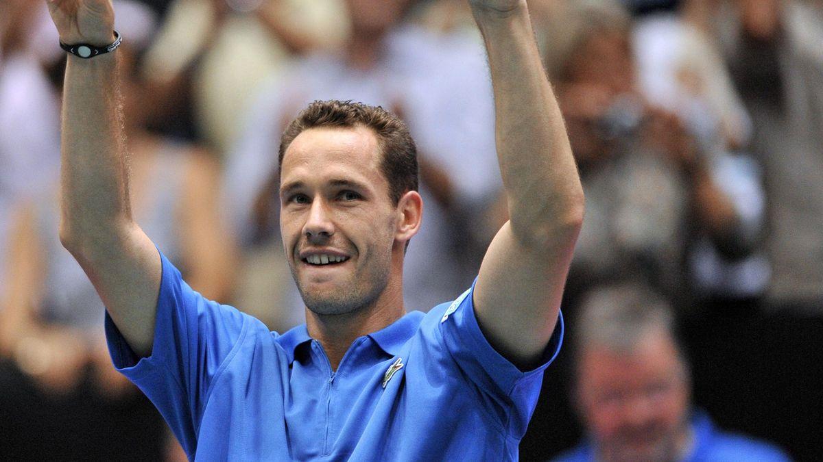 TENNIS Coupe Davis 2010 France Michael Llodra