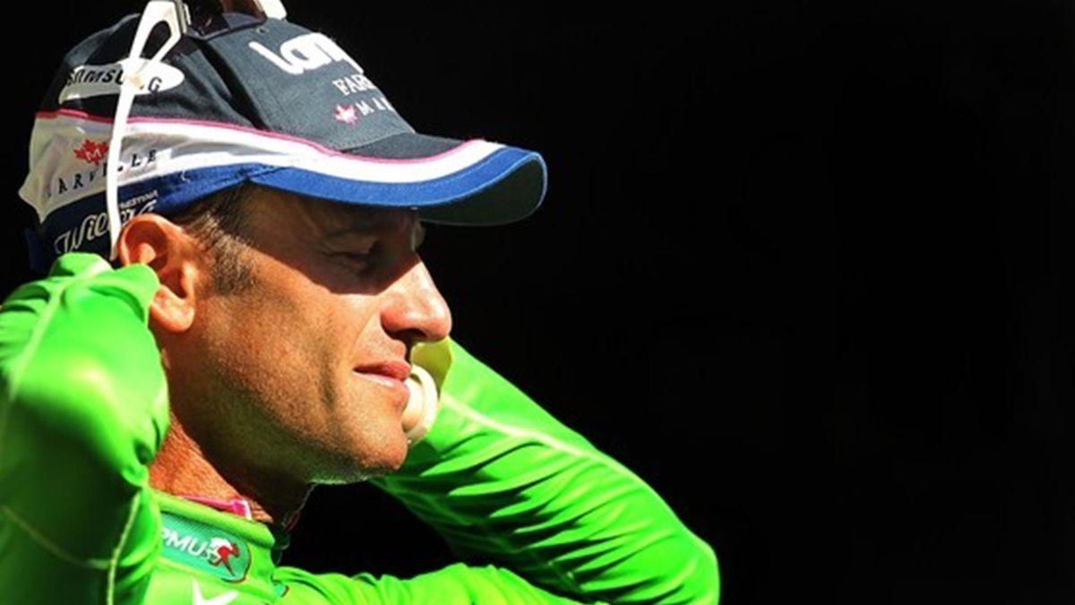2010 Tour de France Alessandro Petacchi Maillot Vert