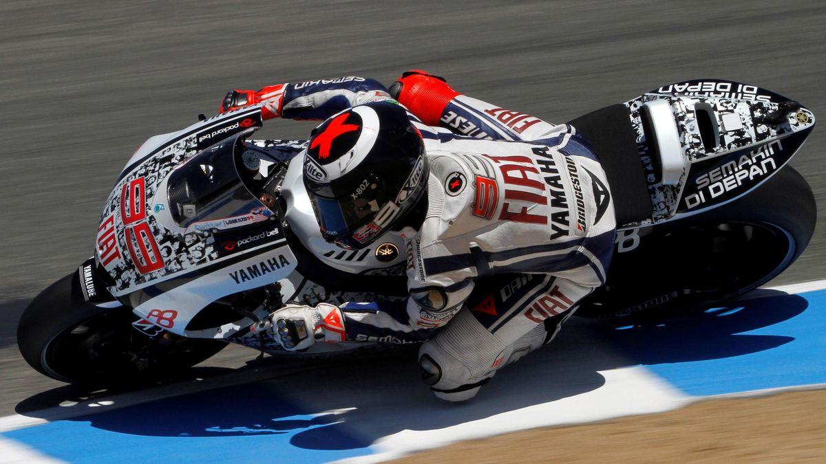Yamaha MotoGP rider Lorenzo