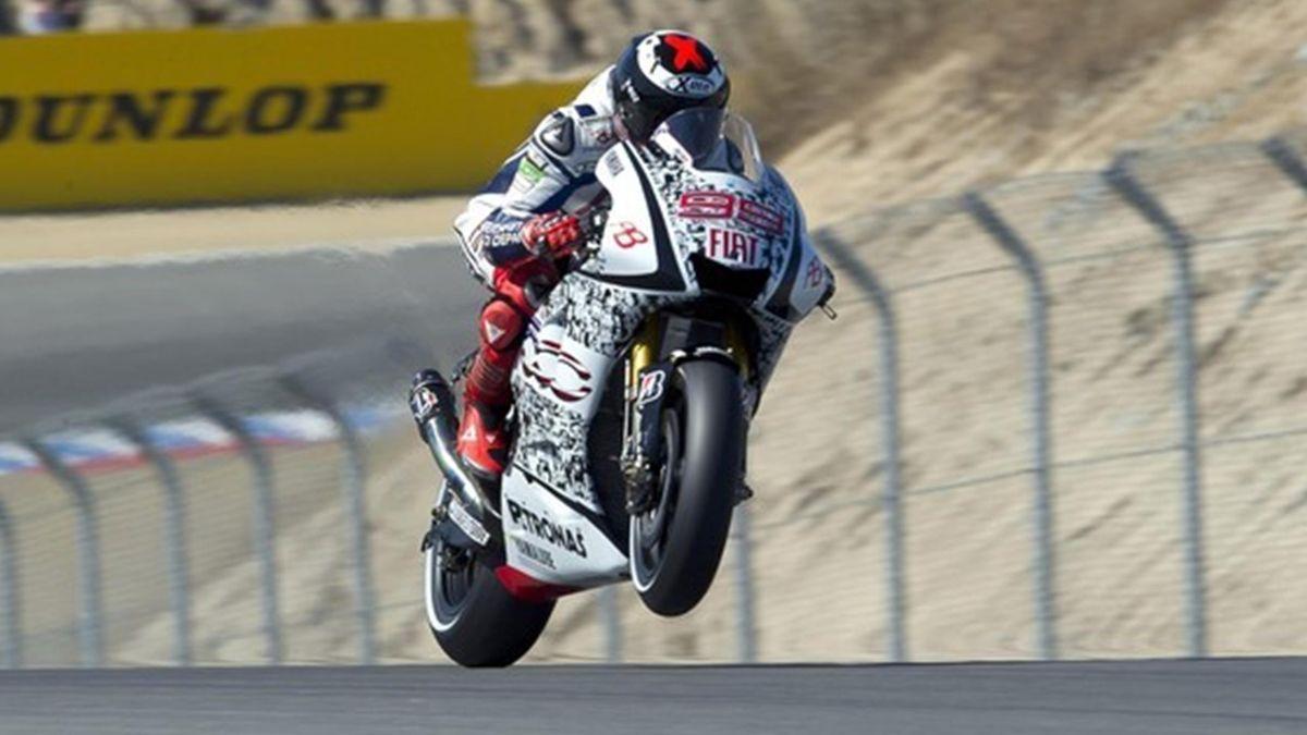 MOTO 2010 GP des Etats-Unis - Lorenzo