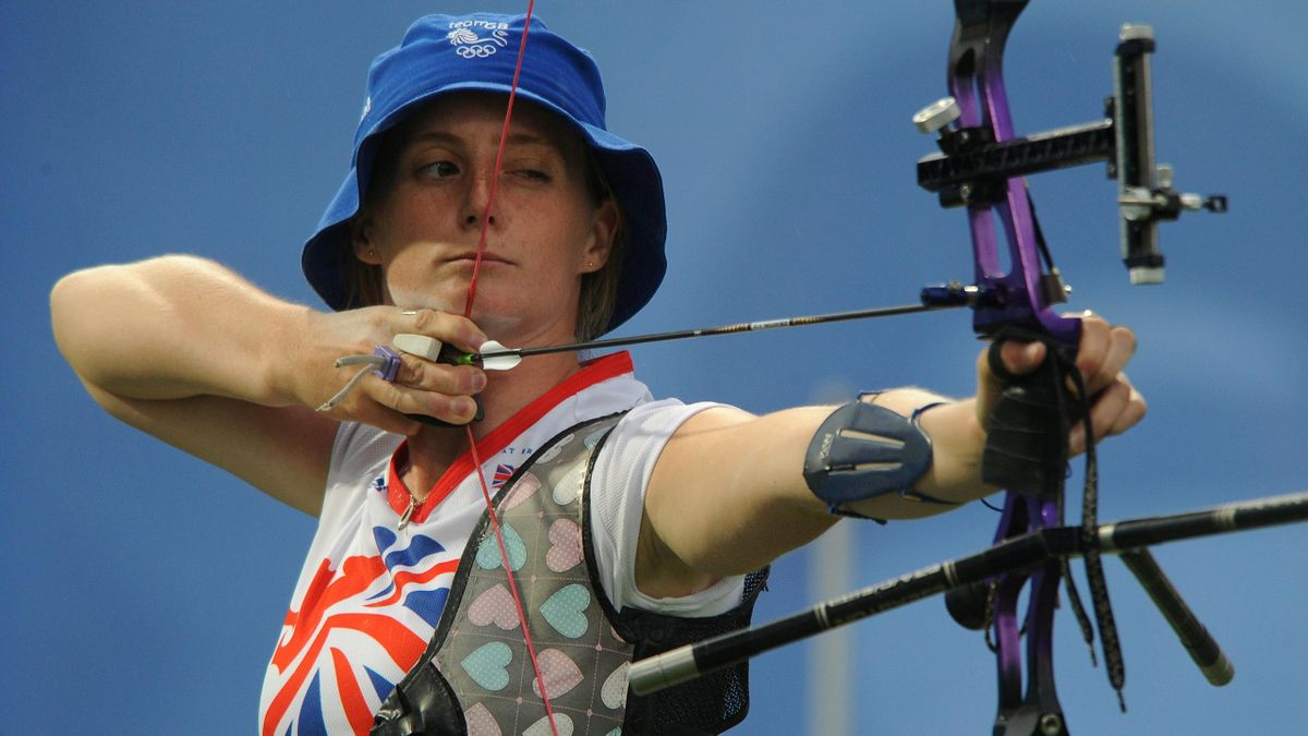 ARCHERY Naomi Folkard of Great Britain in action at the Beijing Olympic Games in 2008