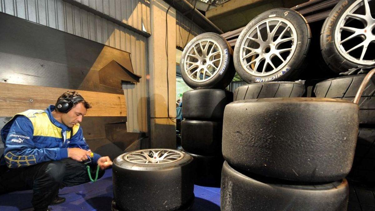 Le mans series pneus