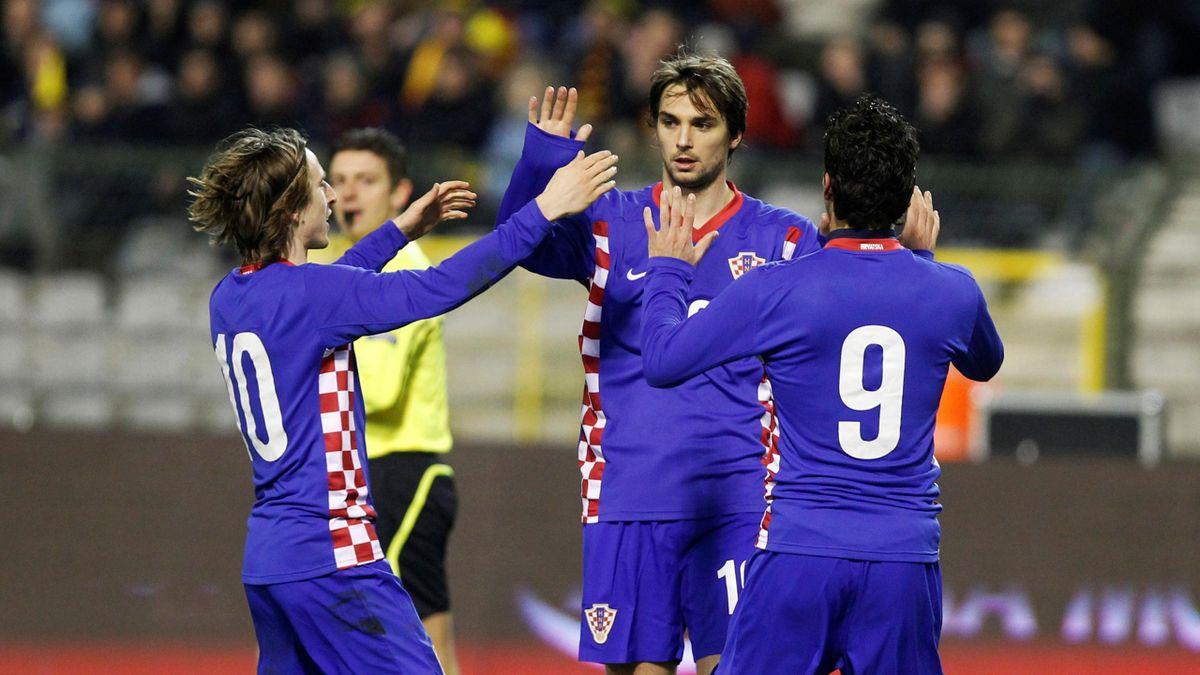 Prisión Colgar Tom Audreath  Kranjcar stars for Croatia - Eurosport