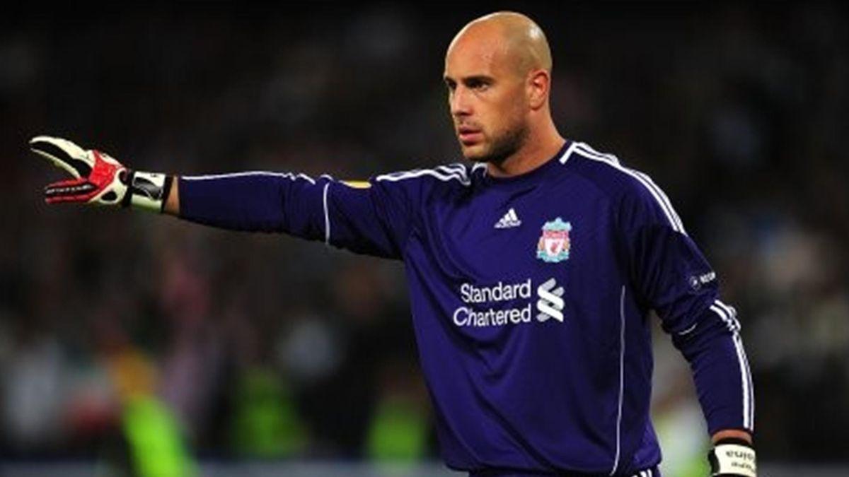 Jose 'Pepe' Reina, Liverpool goalkeeper