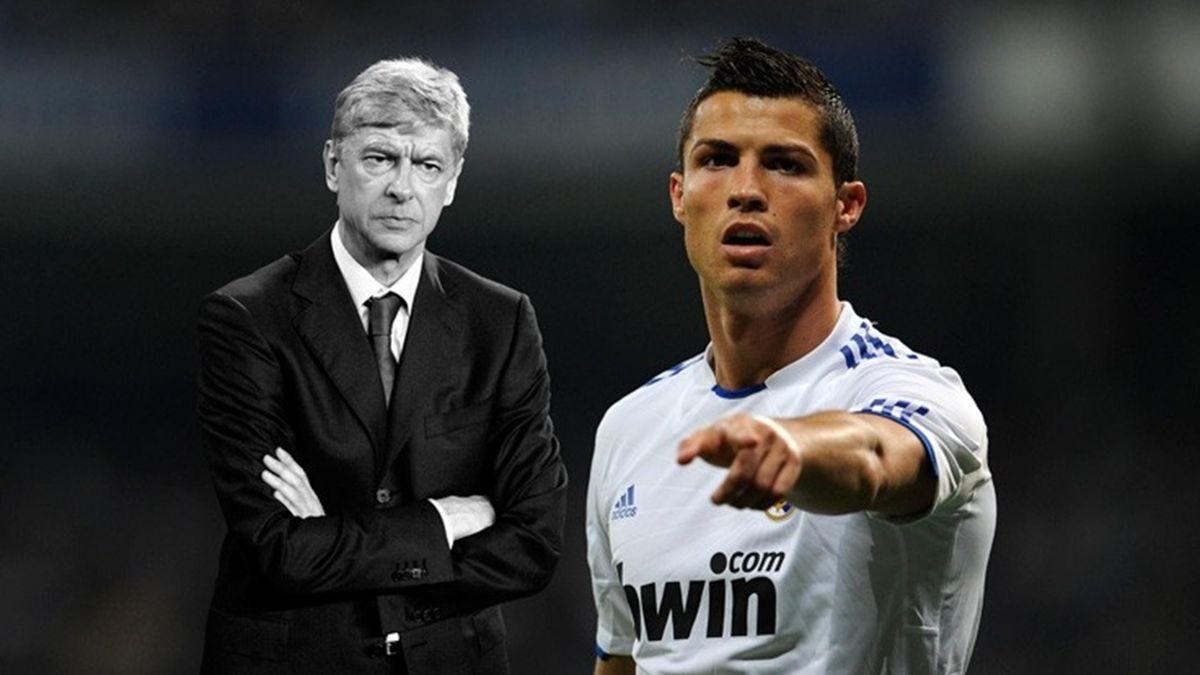 FOOTBALL 2010 Wenger Cristiano Ronaldo Blog