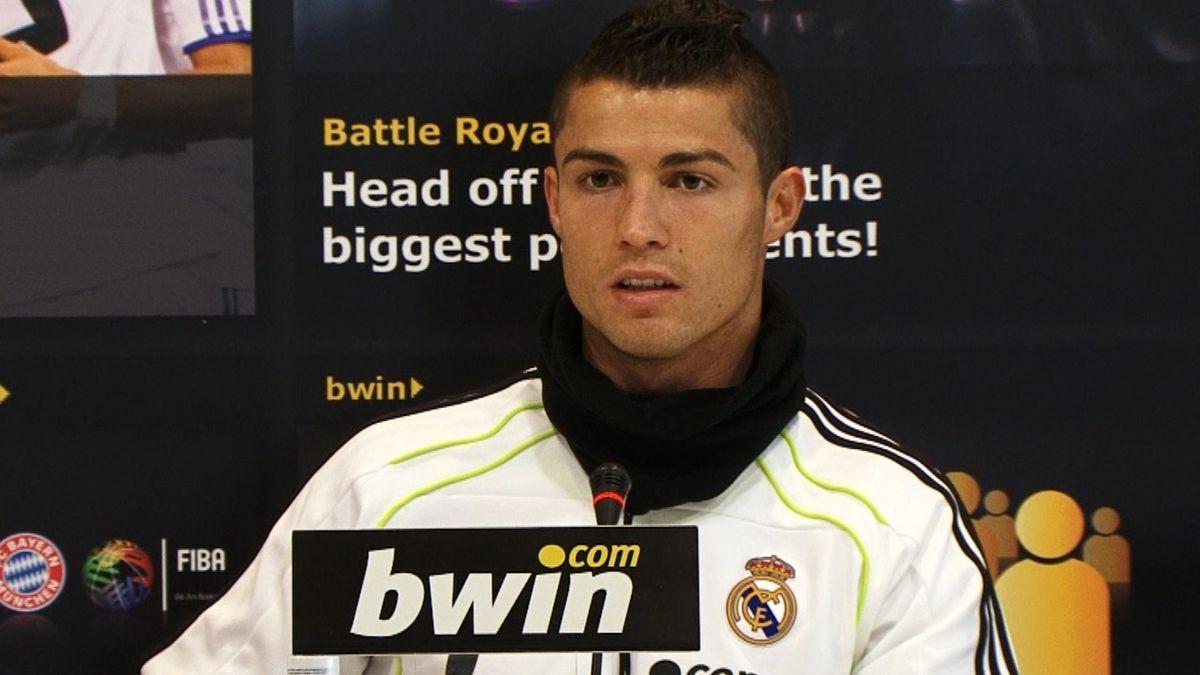 Cristiano Ronaldo Bwin / foto: BWIN