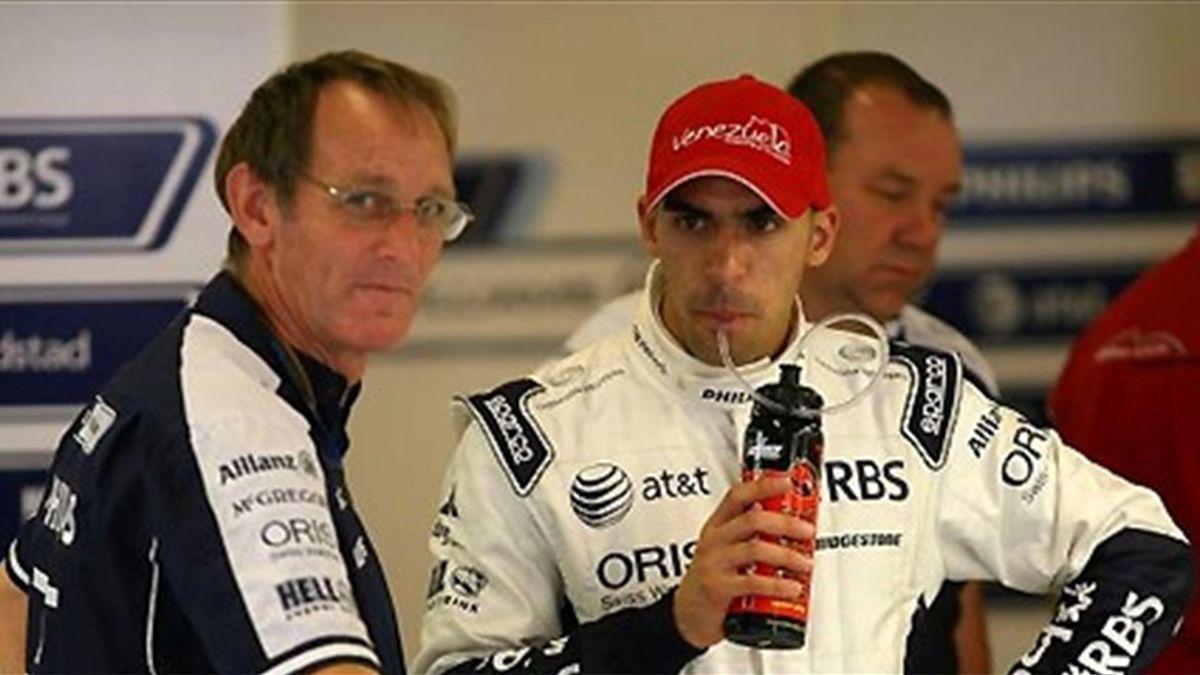 2010 Formula 1 Williams Pastor Maldonado
