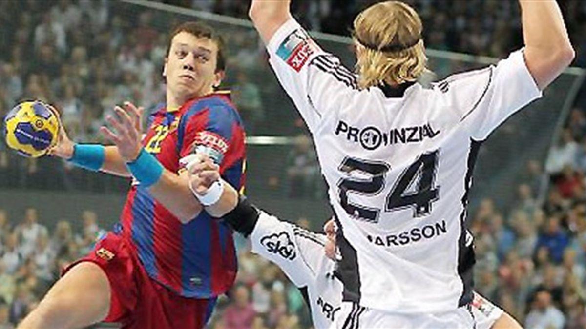 HANDBALL 2010/2011 Barcelona Kiel