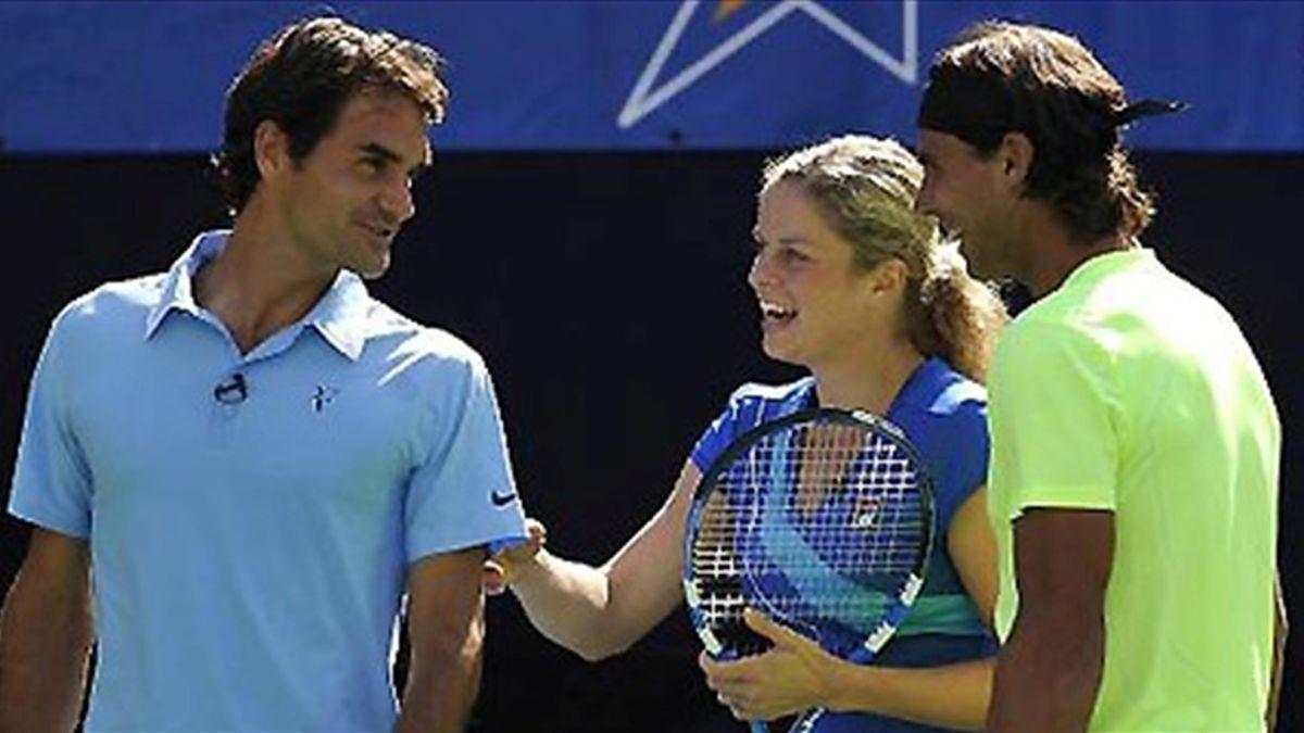 TENNIS 2010 Federer Nadal Clijsters
