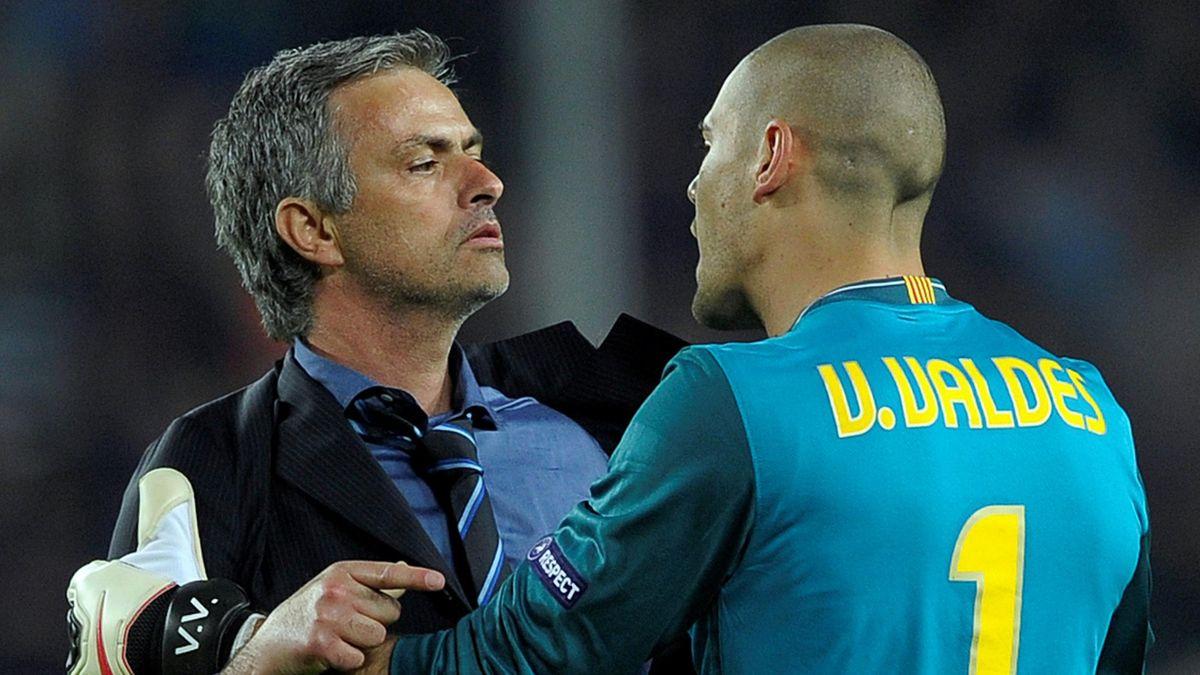 mourinho valdés final champions league bernabeu inter milan bayern munich