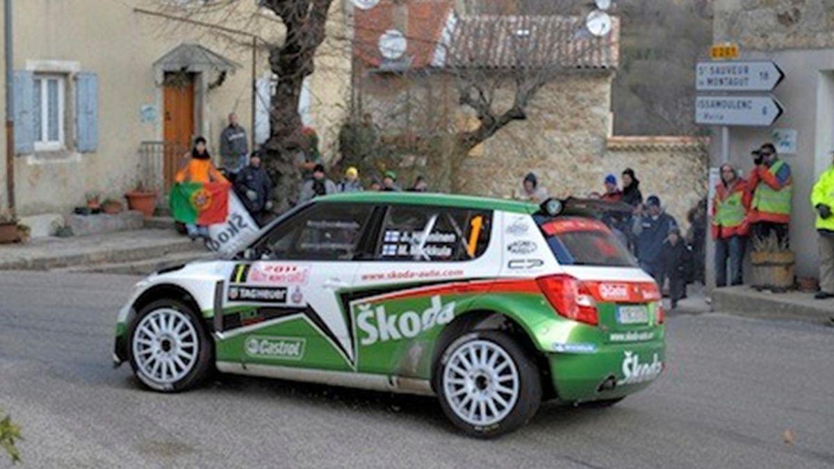 Juho Hanninen IRC Rally Monte Carlo 2011