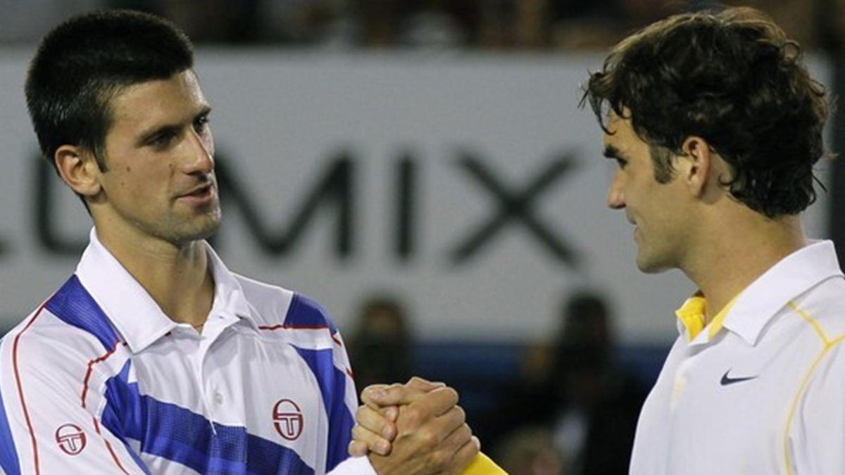 2011 Open Australie Novak Djokovic Roger Federer