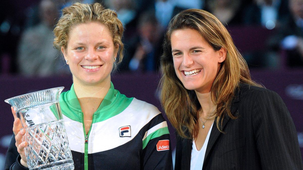 Clijsters n°1 with mauresmo