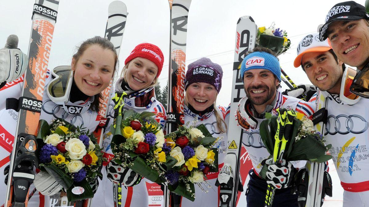 ALPINE SKIING 2010-2011 France