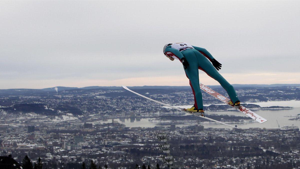 ski jumping holmenkollen oslo