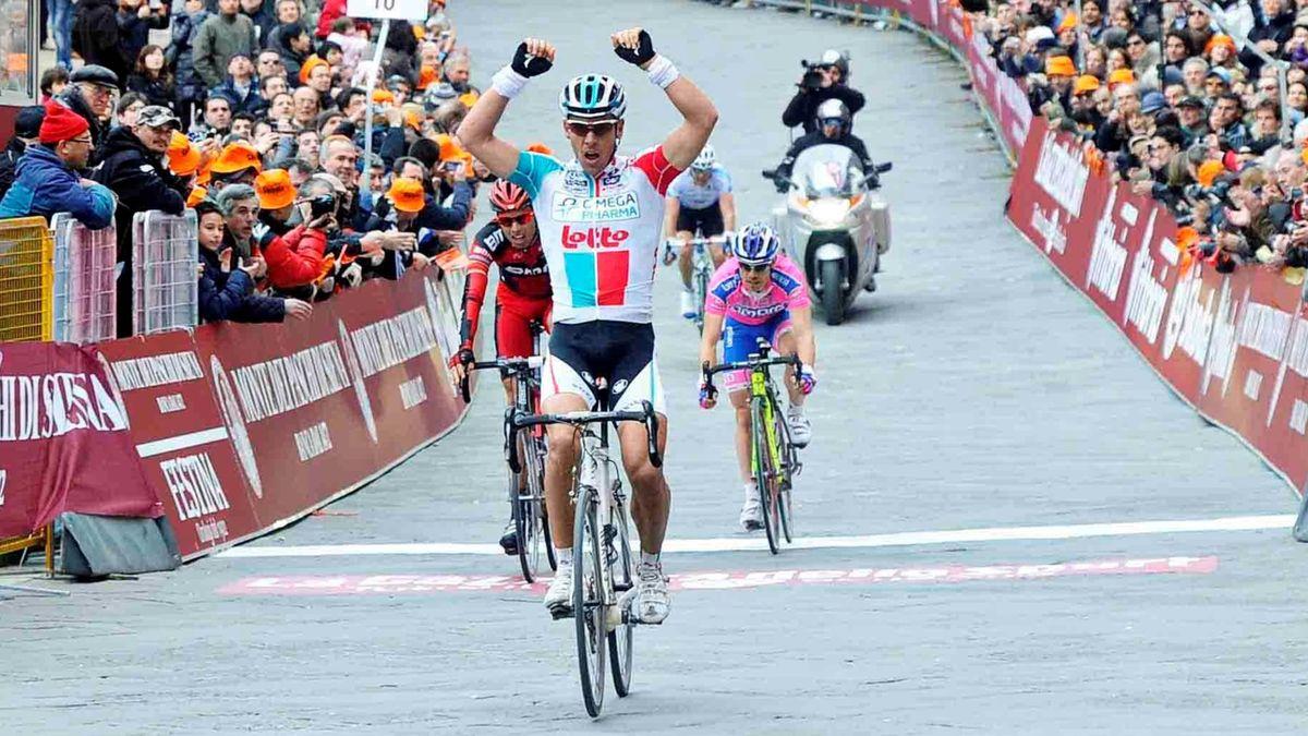 2011 Strade Bianche Philippe Gilbert
