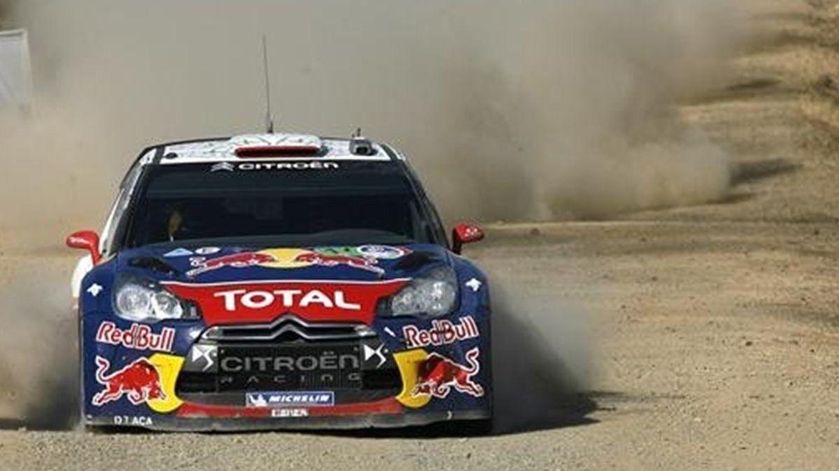 Rally México Loeb (Foto: EFE)
