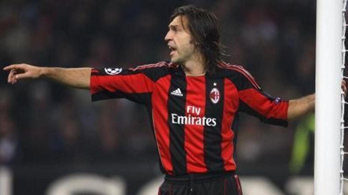 2010-2011 Serie A Milan Pirlo