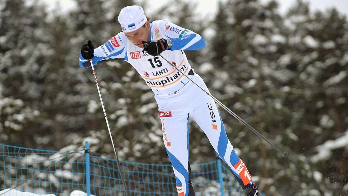 CROSS COUNTRY SKIING Andrus Veerpalu of Estonia
