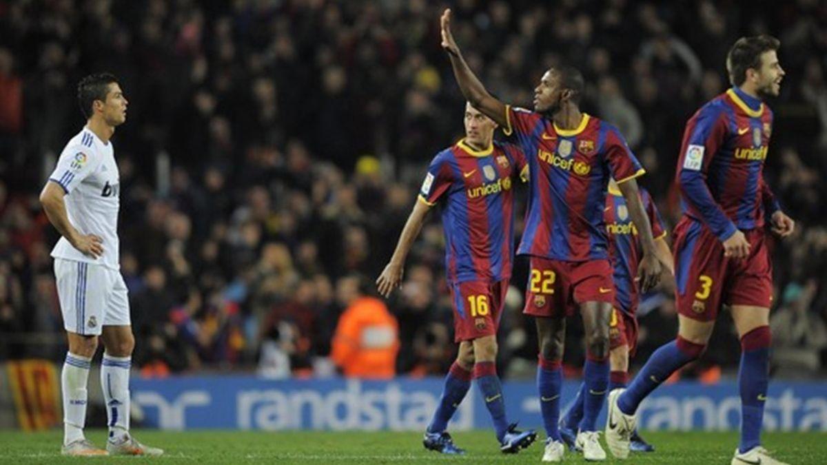 FOOTBALL - 2010/2011 - Barcelona-Real - Ronaldo