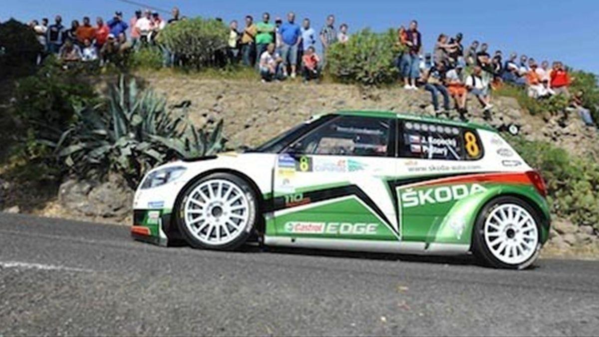 2011 IRC Skoda Motorsport Jan Kopecky