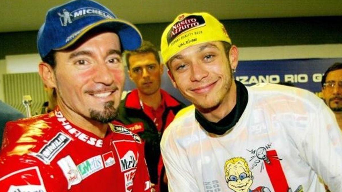 Max Biaggi Valentino Rossi 2006