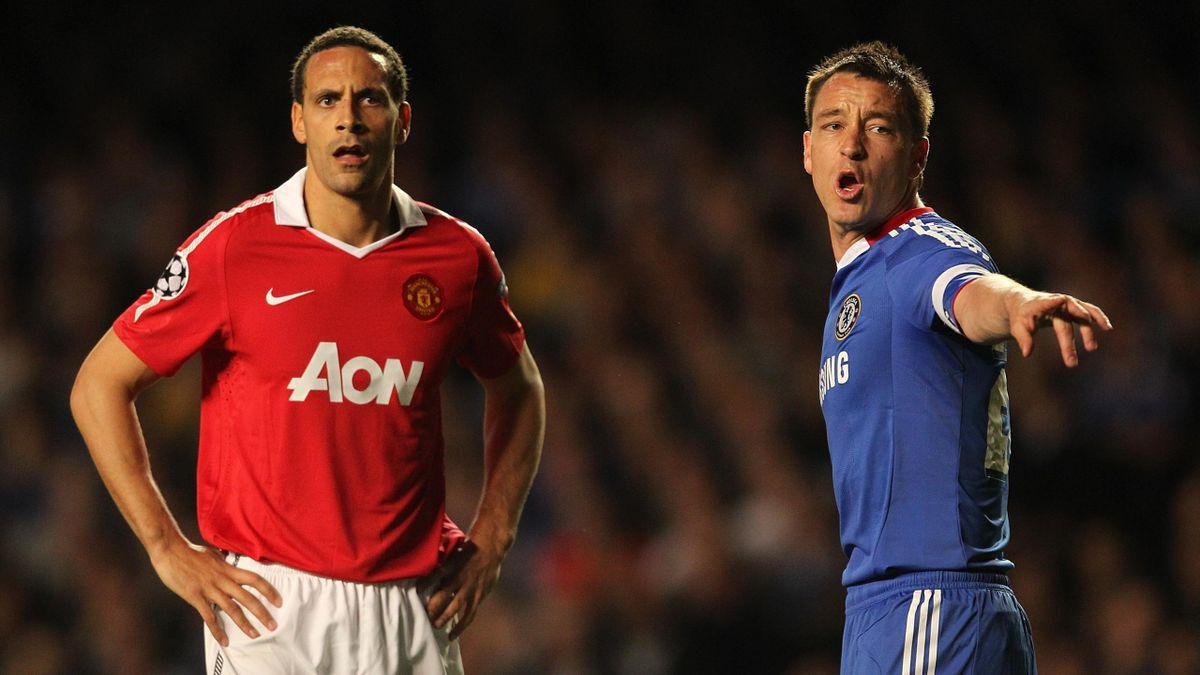 2010-11 Premier League Rio Ferdinand John Terry