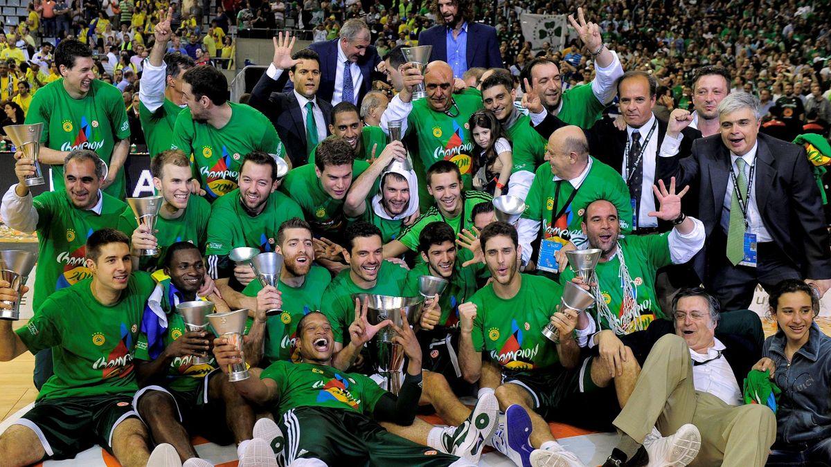 BASKETBALL 2011 Euroleague Panathinaikos