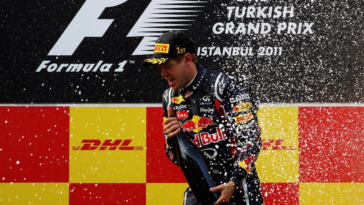 Sebastian Vettel Turkish Grand Prix