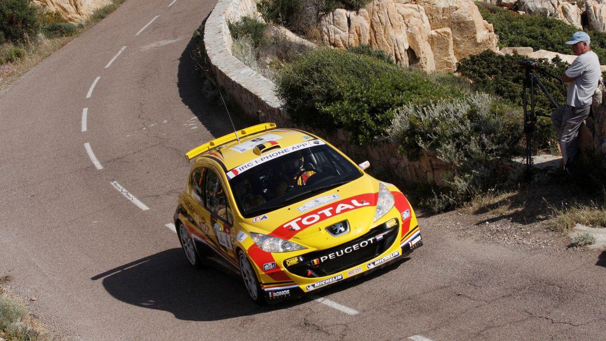 2011 Tour de Corse Peugeot Neuville