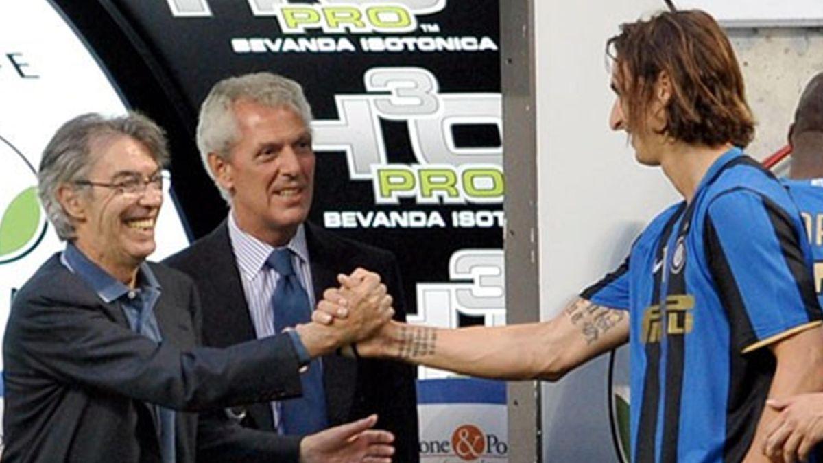 2007-2008 Serie A Inter Moratti Ibrahimovic