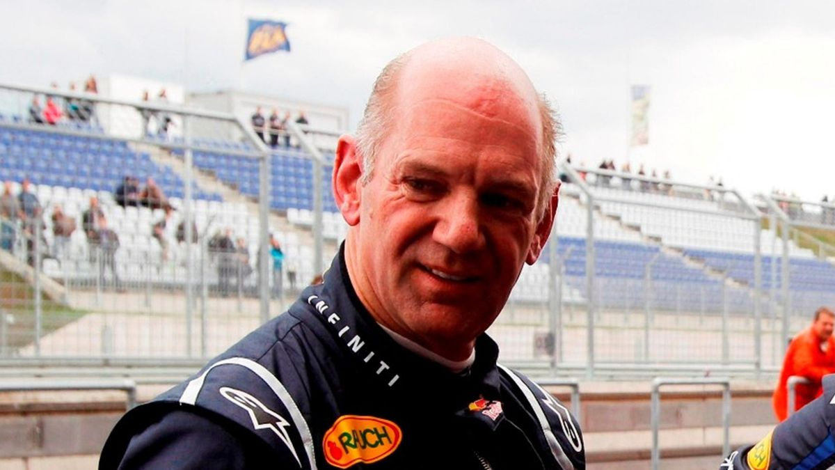 Red Bull Chief Technical Officer Adrian Newey
