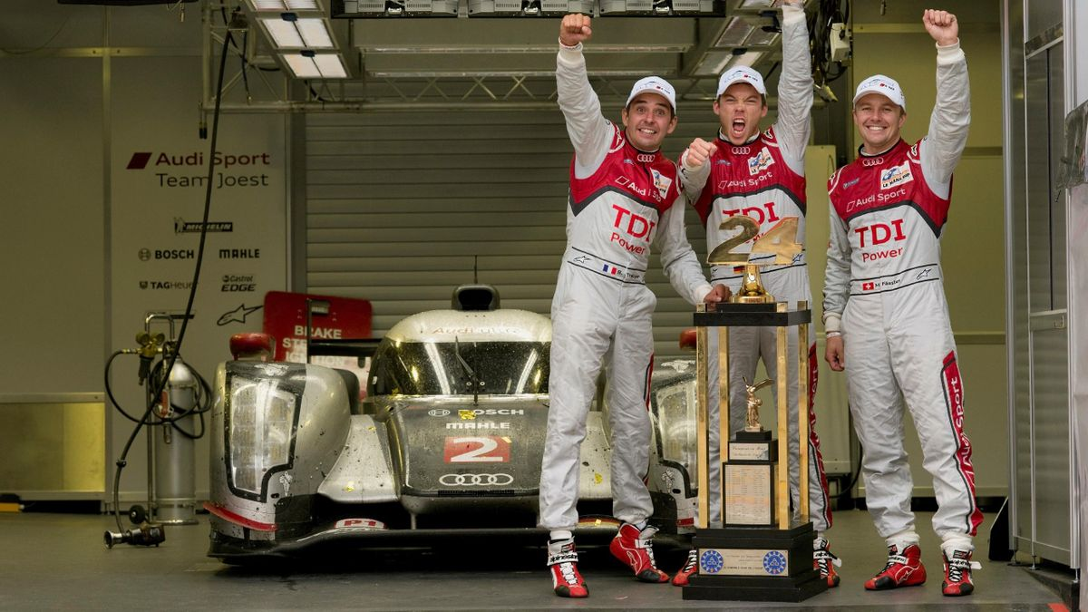 2011 24 Heures du Mans Audi Fassler Lotterer Treluyer