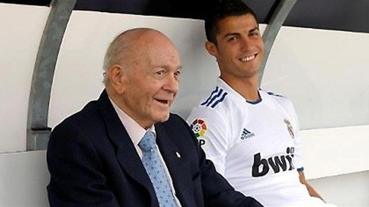 Cristiano Ronaldo y Alfredo Di Stefano