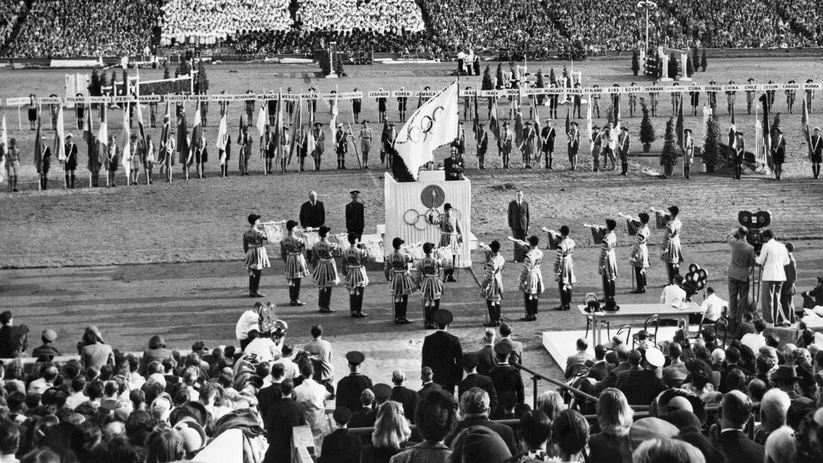 1948 London Olympics closing ceremony