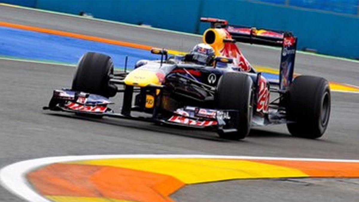 Sebastian Vettel 1. Training Valencia GP Europe 24.06.2011