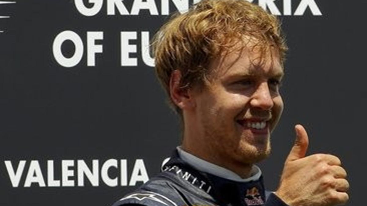 Sebastian Vettel GP Europe Valencia 26.06.2011