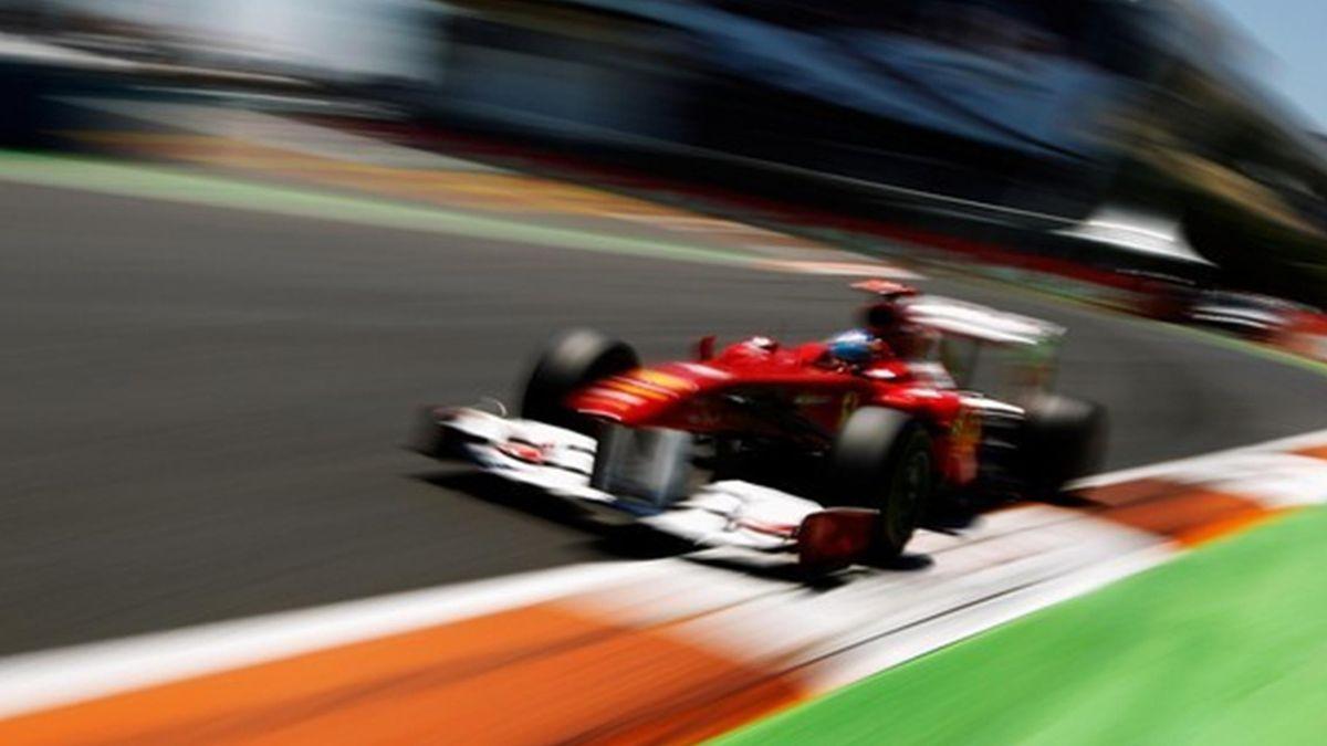 2011 Europe GP Ferrari Alonso