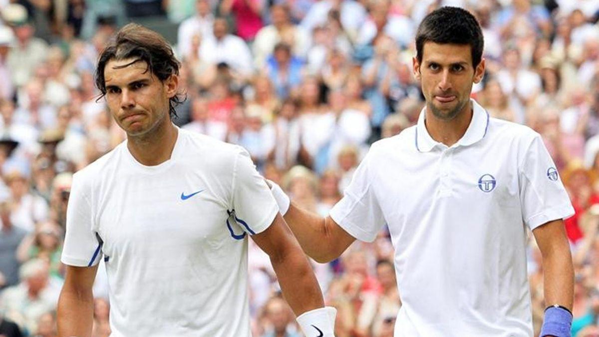 Wimbledon: Nadal y Djokovic