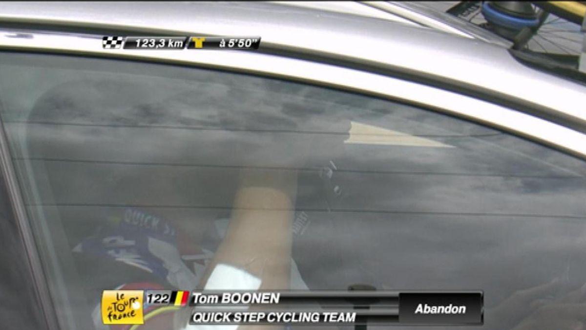 Abandon Tom Boonen stage 7
