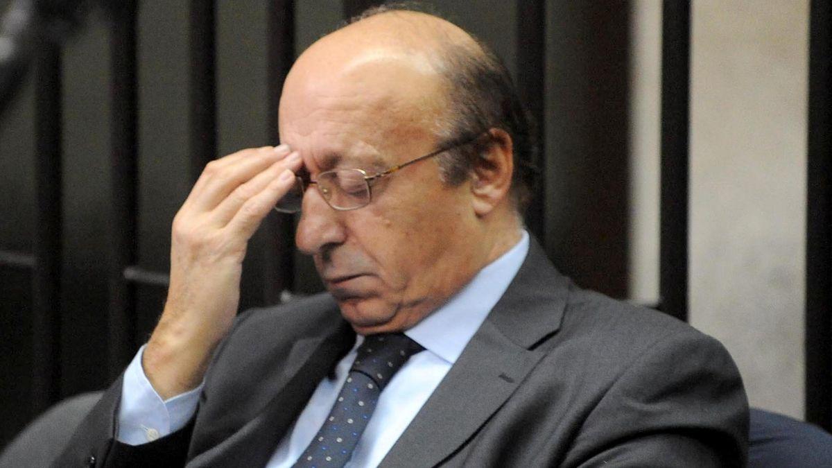 Luciano Moggi (AP/LaPresse)