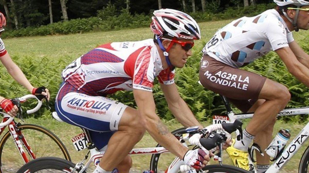 2011 Tour de France Katusha Kolobnev