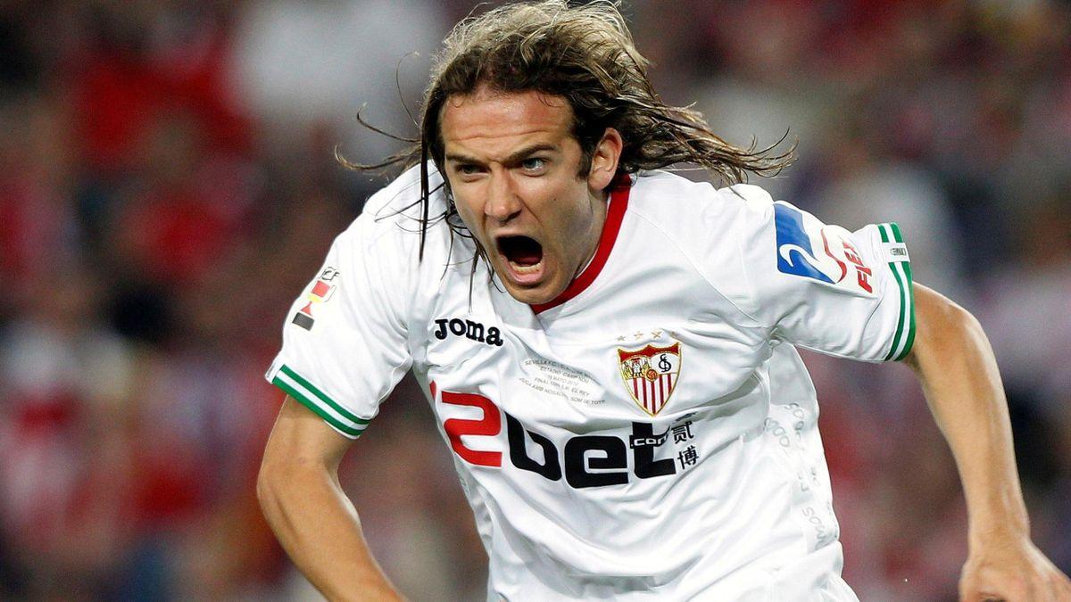 FOOTBALL Sevilla winger Diego Capel