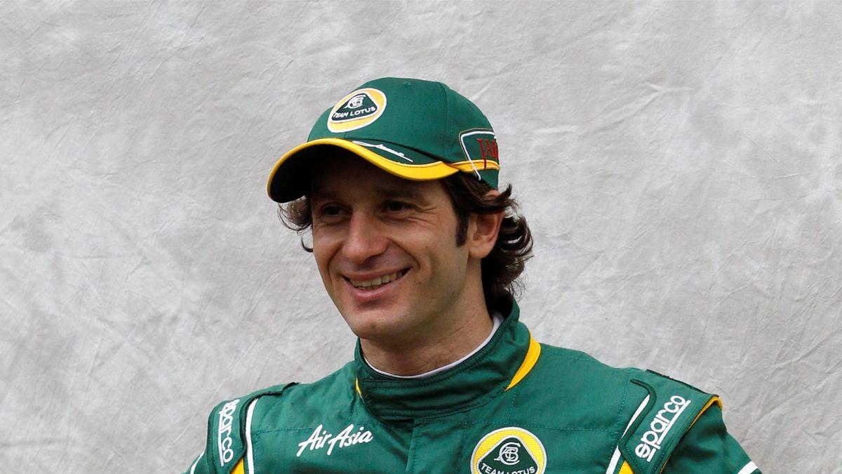 Lotus Formula One driver Jarno Trulli of Italy