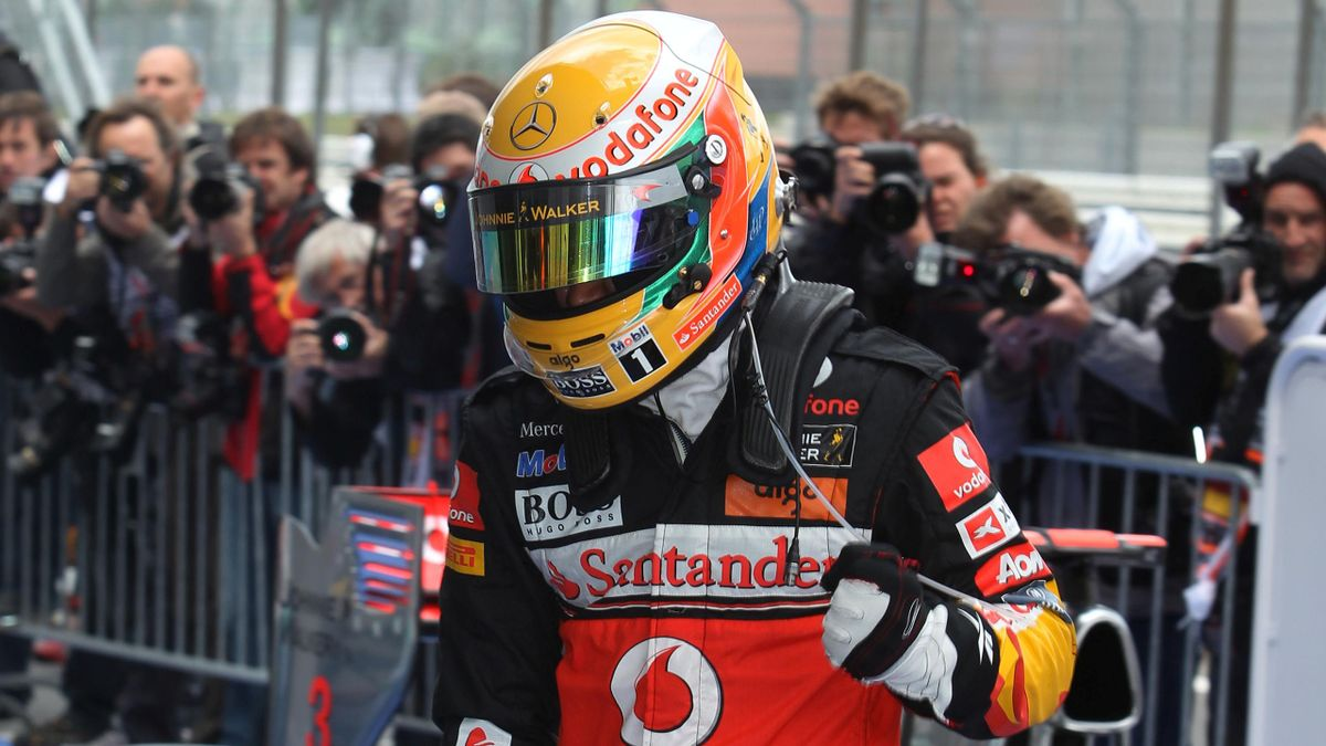 2011 German GP McLaren Hamilton