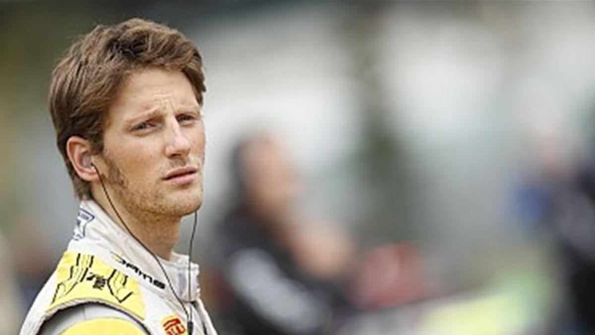 2011 Nurburgring DAMS Grosjean