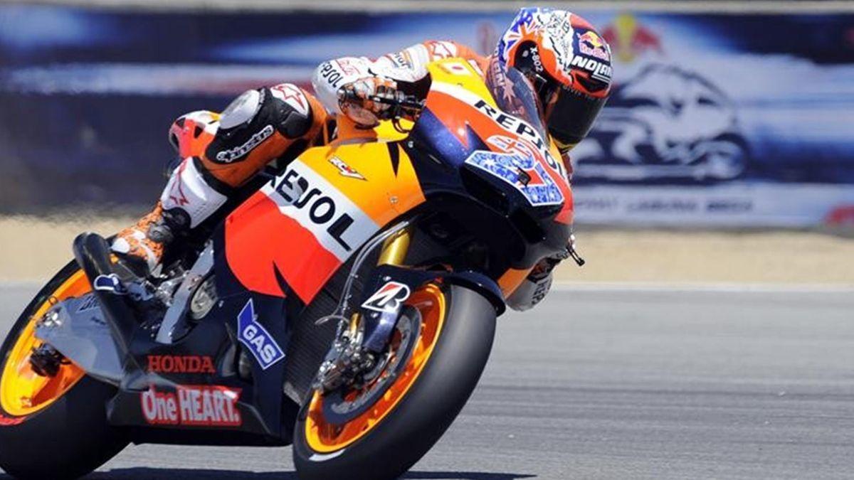 Casey Stoner Laguna Seca Gran Premio Estados Unidos
