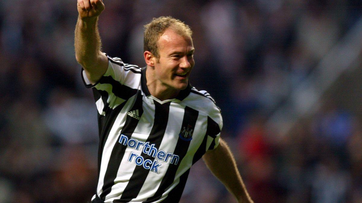 2004 Newcastle Alan Shearer trademark celebration